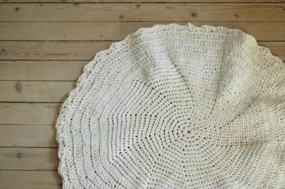 handmade rug crochet