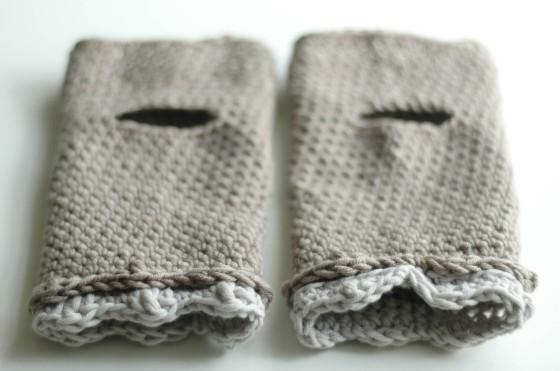 crochet accessories wrist warmers