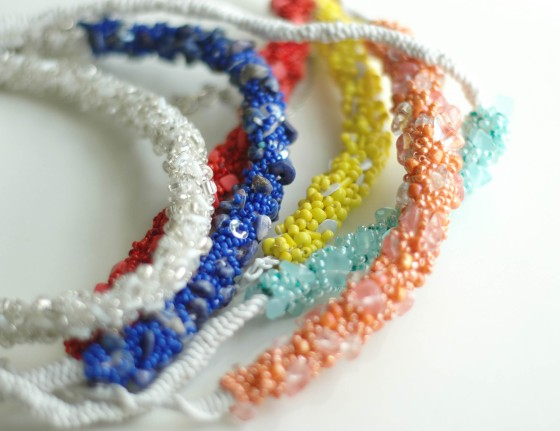 beaded necklace handmade jewelry