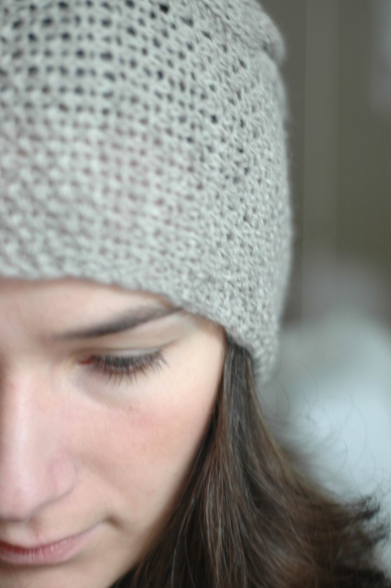 handmade hat knitted hat cap