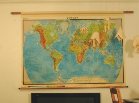 vinatge big map, vinatge finds, oversized map