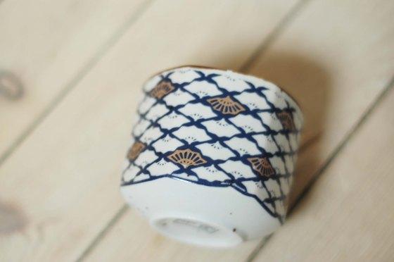 pattern ceramic cups