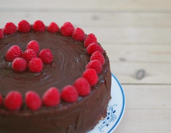 birthday cake chocolate frosting
