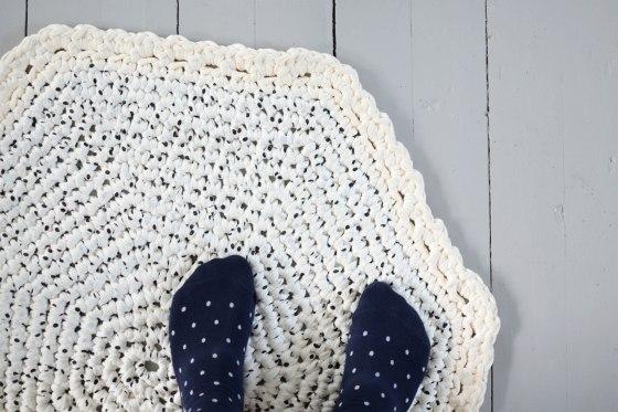 dywanik crochet dots