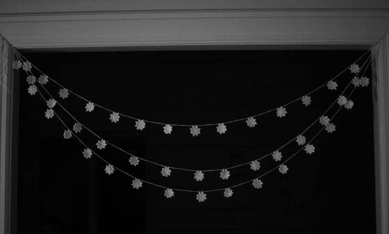 snowflakes crochet